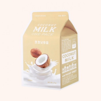 A'PIEU| Milk One-Pack Facemask - Coconut