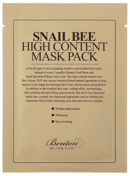 Benton | Snail Bee High Content Mask Pack | Tuchmaske