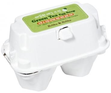 Holika Holika | Green Tea Egg Soap