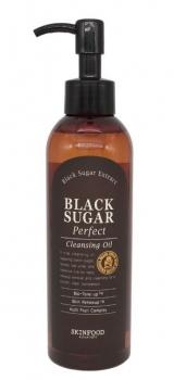 SKINFOOD | Black Sugar Perfect Cleansing Oil