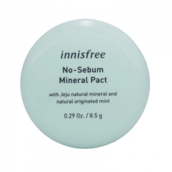 innisfree | No-Sebum Mineral Pact | Puder