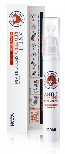 YADAH Anti-T Red Zero Spot Cream Package